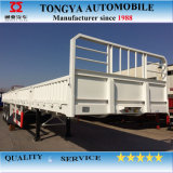 Side Wall Semi Trailer/Bulk Cargo Semi Trailer/3 Axle with Container Lock Side Wall Semi Trailer