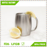 High Quality 18/8 Stainless Steel Coffee Mug Beer/Milk/Juice Mug with Handle