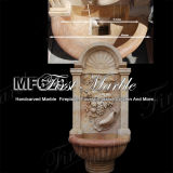 Beautiful Flower Wall Fountain for Craft Mf-629