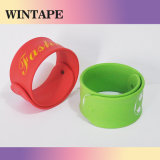 Novelty Color Promotional Slap Bracelets Debossed