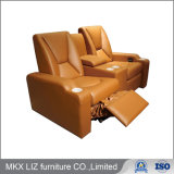 Wholesale Price Home Theater Cinema Recliner Leather Sofa (P005)