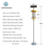 Pest Control with Mechanical Methods, Solar Insect Killing Light