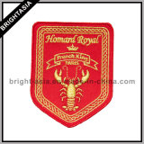 Custom Patch Scorpion Woven Embroidery (BYH-10760)