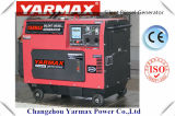 Yarmax Cheap Single Cylinder Silent Air Cooled Diesel Generator Ym6500t