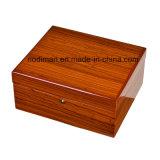 Luxury Wooden Watch Box, Microfiber Watch Box/Packaging Box
