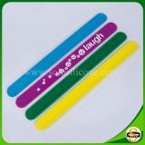 Sports Style Silicone Slap Bracelet for Promotion Gift