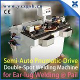 Tailor Made Semi-Automatic Chemical Metal Tin Can Making Double Spot Welding Machine for Chemical Steel Pail