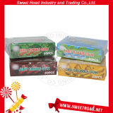 Fruit Flavor Center Filled Jelly Bubble Gum Confectionery in Box Square Chinese Bubble Gum