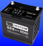 Cheap Automotive Car Battery Ns60, 12V 45ah Batteries