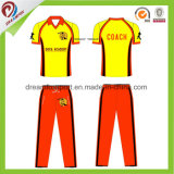 Custom Digital Dry Sublimation 2017 New Model Cricket Jersey and Short with Different Team Name and Number for Cricket