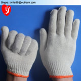 China Bleached White Working Cotton Gloves Protective White Hand Gloves