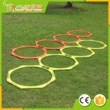 Wholesale Hexagonal Speed & Agility Training Rings Tennis Soccer Football Basketball Training Aid with Carrying Bag