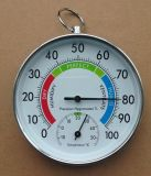 School Supplies 10cm Thermohygrometer, Thermometer Hygrometer 2 in 1