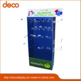 Customized Promotion Cardboard Poster Display Stand with Hook