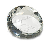 Crystal Diamond Ball Paperweight