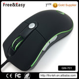 Factory Wholesale 6 Buttons Wired USB Illuminated Computer Gaming Mouse