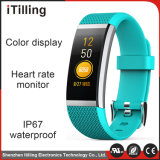 Original 0.96inch Smart Bracelet with Blood Oxygen, Fatigue, Blood Pressure, Heart Rate Monitors, Message Read, Pedometer, Data Synchronization, RFID.
