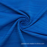 Guangdong Heather Blue Spandex 13 Polyester 87 Blend Stretch Jersey Fabric for Sports