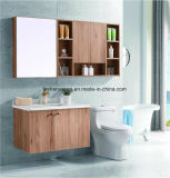 Wooden Fashion Modern Stainless Steel Bathroom Sanitary Ware Cabinet Vanity as-1109
