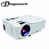 Mini Full HD 1080P 3D LED 150lumens Built-in WiFi Hologram UC36+ Projector for Your Phone