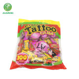 100PCS Polybag Packing Best Player Tattoo Bubble Gum