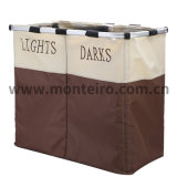Twin Tube Canvas Laundry Storage Bag M-Wd3-002A