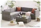 Stock for Outdoor Garden Living Home Patio Rattan Wicker Corner Sofa Set Furniture