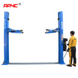 AA4c 8 Fold Post Floor Plate 2 Post Car Lift