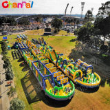2020 Cheap World′ S Biggest Inflatable Obstacle Course, Longest and Largest The Beast Inflatable Obstacle Course
