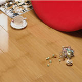 Thcickness 12mm-14mm Carbonized Color Bamboo Flooring Strand Woven Click System