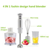 Electric Stainless Steel 4in1 Cheap Hand Blender for Kitchen Appliance
