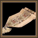 Limited Edition, Brocade, Silk, Textile, Fabric, Art Pattern, Table Runner
