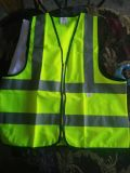 En471 Safety Warning Vest with Class II Reflective Tape with Logo
