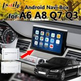Android 6.0 Car GPS Video Interface Navigation for Audi A6l/S6/A8l/Q7/A4l/A5/Q5/Q3/A1 3gmmi with Google Play Mirrorlink Youtube