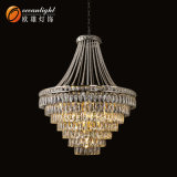 High Quality Crystal Chandelier Lighting Modern Chandeliers Pendant Lamps (MJ006)