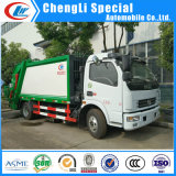 Dongfeng 4X2 5cbm Waste Disposal Garbage Compactor Truck