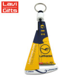 Wholesale Cheap Foam Floatable Ship Shape EVA Plastic Floating Key Chain with Custom Logo