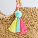 2018 Gift Keychain Jewelry Bag Wallet Purse Decoration Colorful Tassel Fashion Accessories