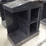 Bahama Blue Granite 2-Niche Private Columbarium