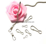 Metal Snap Spring Clips Lanyard Hooks Key Chain Findings