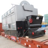 Biomass Wood Chips Sawdust Hot Water Boiler
