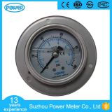 "2.5""63mm Full Stainless Steel Panel Pressure Gauge with Front Flange"