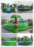 Kids Fun City Jumping Castles Bouncer Inflatable Amusement Park (MJE-063)