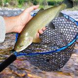 Wholesale Fly Fishing Trout Fishing Rubber Mesh Landing Net