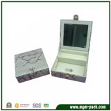 Fashion Snap Closure Two Doors Jewelry Box