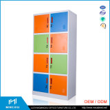 Luoyang Mingxiu High Steel Furniture 8 Door Gym Metal Clothes Locker / Metal Locker