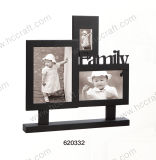 Family Wooden Photo Frame with Letter for Home Decoration