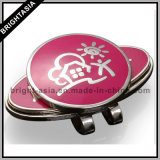 Lovely Golf Ball Marker with Golf Cap Clip Set for Club Use (BYH-101036)