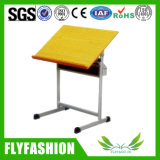 School Furniture Wooden Drafting Desk for Wholesale (SF-10T)