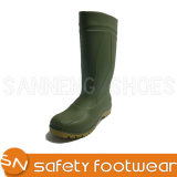 Factory Price China Hot Sell Industry PVC Rain Boot Adult Safety Boot Chef Shoes Wholesale Warm/Summer Best Quality Wearproof Fish Breeding/Farm Sn1255
